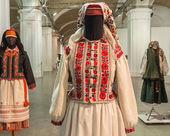 Ukrainian complexes clothing — Stock Photo
