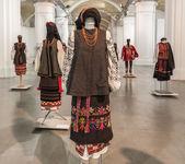 Ukrainian complexes clothing — Stockfoto