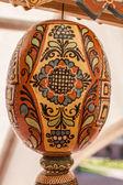 Pysanka - Ukrainian Easter egg. — Zdjęcie stockowe