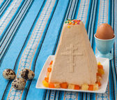 Curd Easter cake — Stock Photo