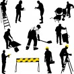 Construction workers — Stock Vector #60111729