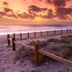 Постер, плакат: Sunset beach in Gabo de Gata