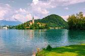 Bledsjön i sommar — Stockfoto