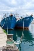 Fishing ships in the port of Pula, Istria, Croatia — Stock Photo