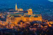 будапештский замок — Стоковое фото