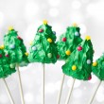Christmas tree cake pops — Stock Photo #56947451