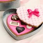 Chocolate box cookies — Stock Photo #61915705