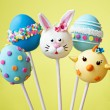Easter cake pops — Stock Photo #63683865