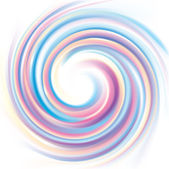Vector wonderful backdrop of swirling colorful texture — Stock Vector