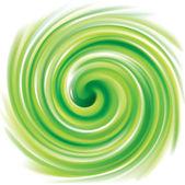 Vector swirling backdrop light green color — Stock Vector