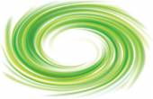 Vector swirling backdrop green color — Stock Vector
