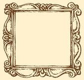 Vector antique frame — Stock Vector