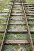 Old railroad — Stock Photo