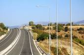 Highway at Greece — Stock Photo