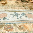 Постер, плакат: Archaic Roman era mosaic found at ancient Dion of Greece