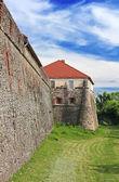 Użhorod średniowiecznego zamku na ukrainie — Zdjęcie stockowe