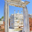 The ruins of the st. Johns Basilica constructed in the 5th Century AD by Emperor Justinian on Ayasuluk Hill, Selcuk, Ephesus, Turkey — Stock Photo #62634819