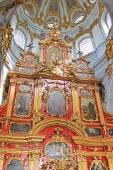 Inside of Saint Andrew's Church, Kyiv, Ukraine — Stock Photo