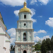 View on bell tower of Saint Sophia Cathedral  in Kyiv, Ukraine — Stock Photo #65864989