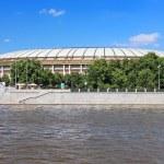 "View from Moscow River on Stadium ""Luzhniki"", Moscow, Russia — Stock Photo #67750097"