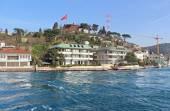 Istanbul Coast, Asian side, saw from Bosphorus, Turkey — Stock Photo