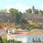 Panorama of ancient Palamidi fortress at Nafplio, Greece — Stock Photo #70983165