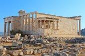 Erechtheum, Athens — Stock Photo
