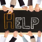 Help concept — Stock Photo