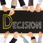 Decision — Stock Photo