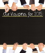 Visions list — Stock Photo