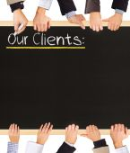 Our Clients — Stock Photo