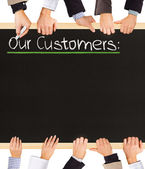Our Customers — Stock Photo