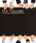 Our Mission — Stock Photo