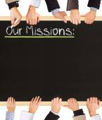 Our Missions — Stok fotoğraf