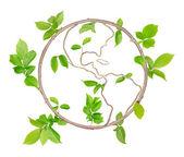 Planeta verde — Fotografia Stock