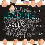 Постер, плакат: LEADING concept