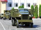 Military vehicle — Fotografia Stock