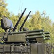 "Weapons of anti-aircraft defense system ""Pantsir-S1"" — Stock Photo #53777147"