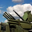 "Weapons of anti-aircraft defense ""Pantsir-S1"" — Stock Photo #56500771"