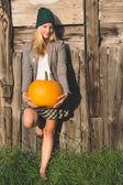 Happy halloween concept — Stockfoto