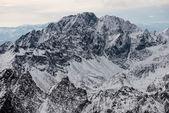 Panorama of Snow Mountain Range Landscape — Stock Photo