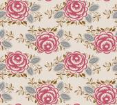 Seamless pattern of roses in vintage style — Stock Vector