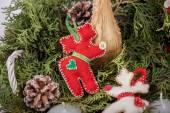 Weihnachts-dekoration-design — Stockfoto