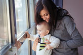 Mother with baby boy — Stock Photo