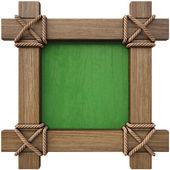 Drewniane menu płyty — Zdjęcie stockowe