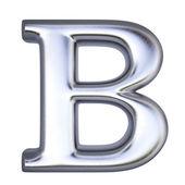 Alphabet letter B — Zdjęcie stockowe