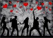Valentine's Day Event  — Stok Vektör