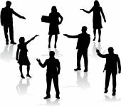 Business people — Stok Vektör