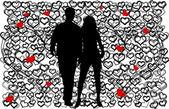 Valentine's Day Event — Stock Vector