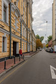 Streets of Moscow — Stock Photo